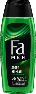 Fa żel pod prysznic men Xtreme Sports body & hair