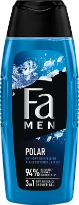 Fa żel pod prysznic men Xtreme Polar body & hair