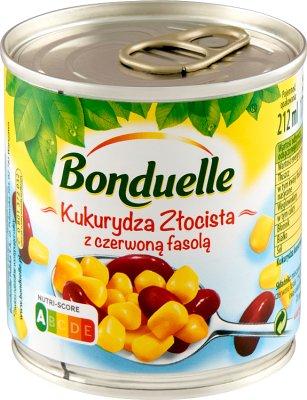 Bonduelle Kukurydza złocista z czerwoną fasolą