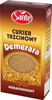 demerara sugar cane Unrefined