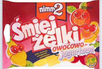 Ríete caramelos enriquecidos con vitaminas , fruta y yogur