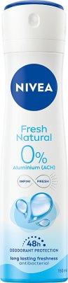 Nivea dezodorant fresh natural w sprayu dla kobiet