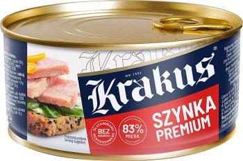 Krakus konserwa szynka premium 83% mięsa