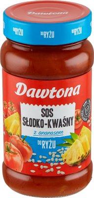 Dawtona sos słodko-kwaśny z ananasem