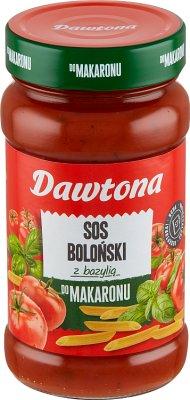 Dawtona sos bolognese z ziołami