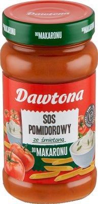 Dawtona sos do spaghetti śmietanowo-pomidorowy