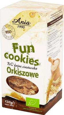 FUN COOKIES 120g Dinkel BIO -BIO ANIA