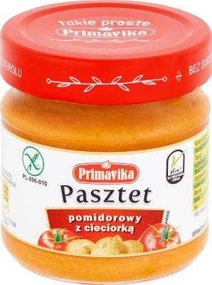 Primavika Pasztet pomidorowy  z cieciorką