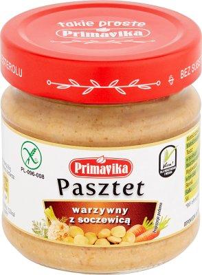 Primavika Pasztet warzywny z soczewicą