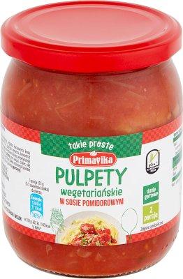 Primavika Pulpety wegetariańskie  w sosie pomidorowym
