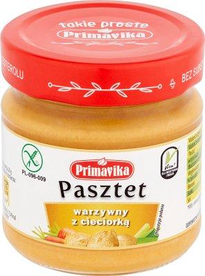 Primavika Pasztet warzywny  z cieciorką