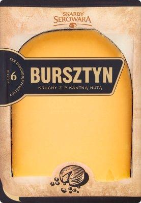 Bursztyn Skarby Serowara ser żółty, długodojrzewający