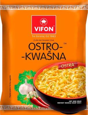 Vifon Ostro-kwaśna Zupa błyskawiczna ostra