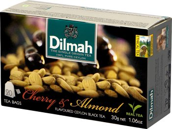 Dilmah Cejlońska czarna herbata z aromatem wiśni i migdałów