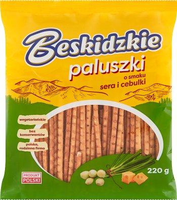 Aksam Paluszki Beskidzkie ser i cebulka