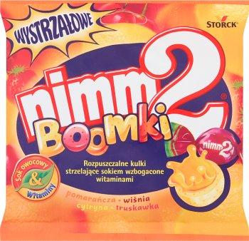 nimm2 żujki Rozpuszczalne kulki strzelające sokiem wzbogacone witaminami