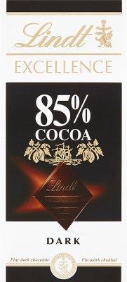 Lindt Excellence czekolada gorzka 85% kakao