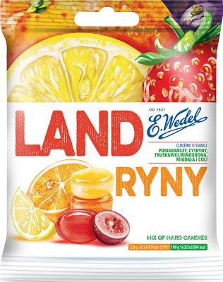 E. Wedel Landryny Cukierki o smakach owocowych