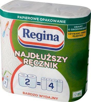 Regina Najdłuższy Ręcznik uniwersalny 2 warstwy 2 rolki