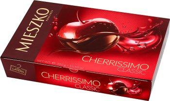 Mieszko Cherrissimo Classic Czekoladki nadziewane wiśnie w alkoholu