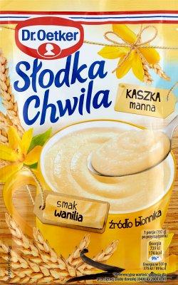 doux moment bouillie de semoule saveur vanille 47,5 g
