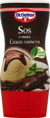 Д-р Oetker шоколад со вкусом соус