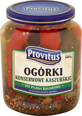 Provitus Ogórki konserwowe kaszubskie
