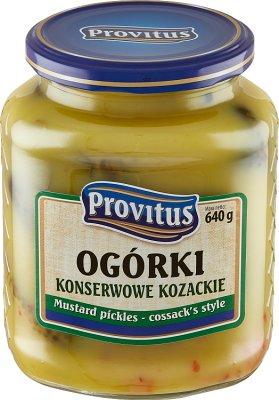Provitus Ogórki konserwowe kozackie