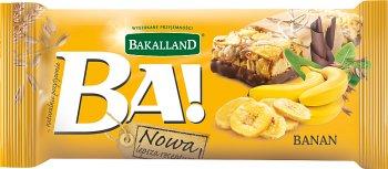 Bakalland Ba! baton zbożowy Banan