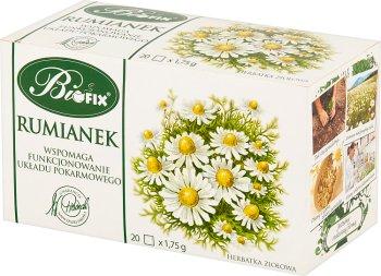 BiFix rumianek herbatka ziołowa ekspresowa