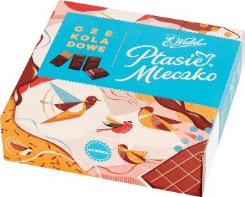 E. Wedel Ptasie Mleczko czekoladowe