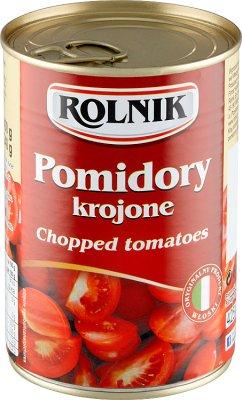 Rolnik Pomidory krojone w sosie własnym
