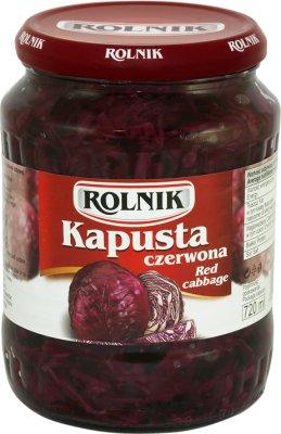 Rolnik Kapusta czerwona
