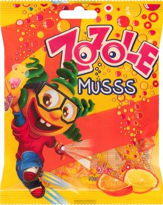 Zozole Мусса Конфеты со вкусом апельсина и лимона 75 г