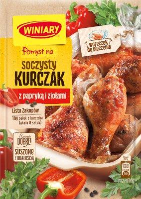 Winiary Pomysł na... Soczystego kurczaka z papryką i ziołami