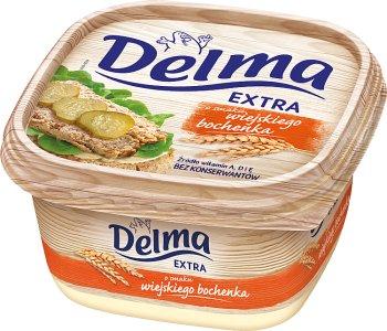 Delma Extra z masłem o smaku wiejskiego bochenka Margaryna