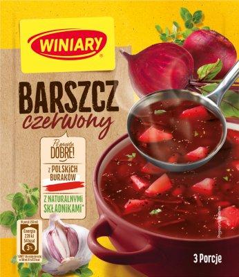 Nous nous spécialisons dans Winiary soupe de betteraves 49 g