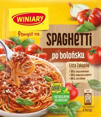 Winiary Pomysł na... Spaghetti po bolońsku