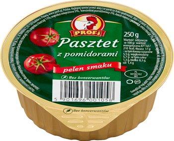 Profi Wielkopolski Pasztet z drobiem i pomidorami