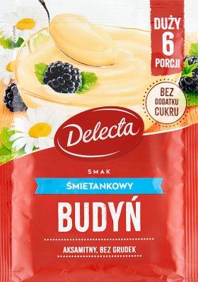 Delecta Duży budyń smak śmietankowy