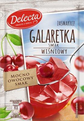 Delecta Galaretka smak wiśniowy
