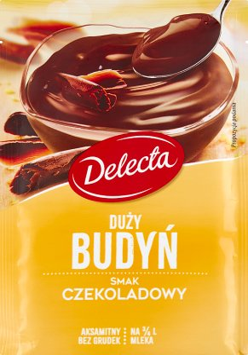 Delecta Duży budyń smak czekoladowy