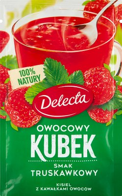 fruit jelly cup strawberry flavor