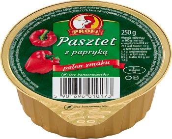 Mayor Profi Pate con aves de corral y el pimiento rojo 250 g