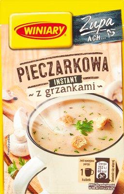 Winiary Smaczna Zupa Pieczarkowa z grzankami