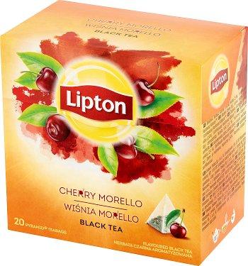 Lipton Wiśnia Morello Herbata czarna