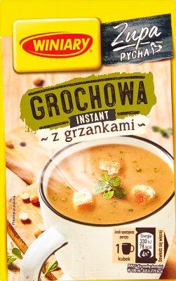 Winiary Smaczna Zupa Grochowa z grzankami