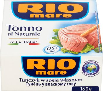 Rio Mare tuńczyk w kawałkach w sosie własnym