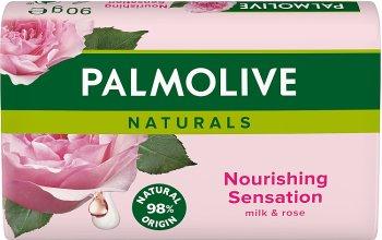 натуралы питательный ощущение кусок мыла с экстрактами молока и лепестками роз