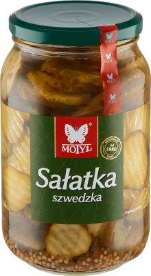 Motyl sałatka  szwedzka